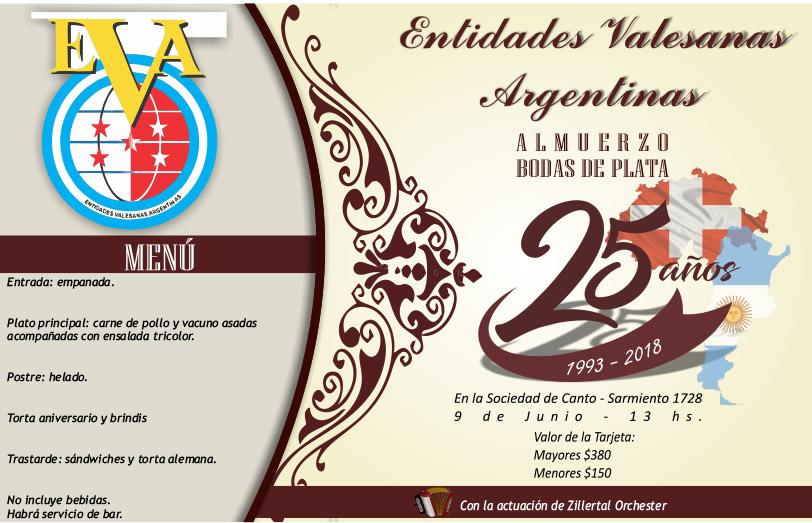 25º Aniversario de EVA