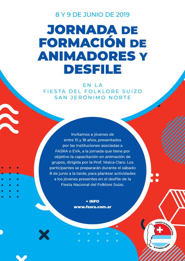 Jornada de Formación de Animadores y Desfile