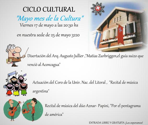 Ciclo de mayo cultural