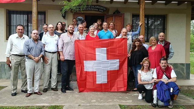 1er Almuerzo de la Colectividad Suiza en Argentina